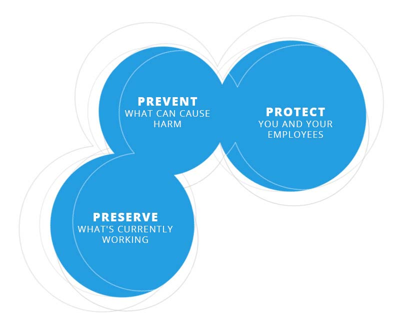 BlueBack Health promise chart